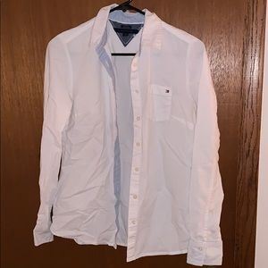 Tommy Hilfiger classic fit button down white